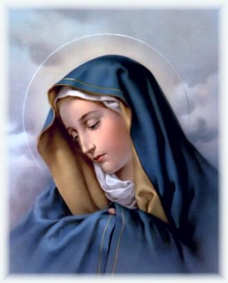 Et Marie se pencha... Viergemarie