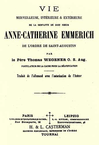 Anne Catherine Emmerich -  Wegener